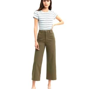 Levi's Ribcage Wide Leg Crop- NEW WITH TAGS